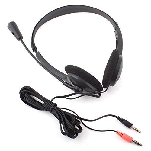Earphone Headphone W/ Microphone Mic Voip Headset Skype Msn