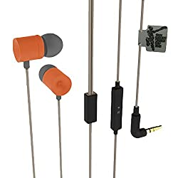 Cognetix ICC Cricket World Cup 2015 Earphone - CX312CO (Cream/Orange)