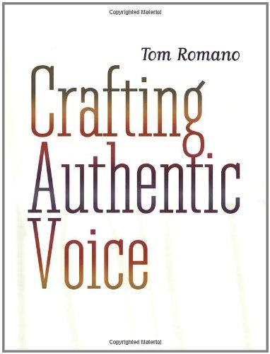 Crafting Authentic Voice