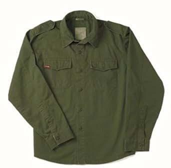 Olive Drab Vintage BDU Shirt 2568 Size XS