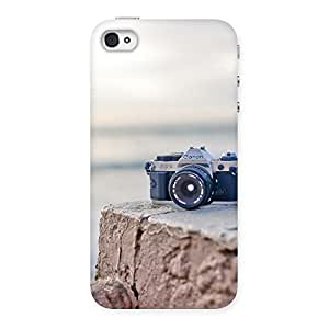 Ajay Enterprises Vintage Camera Multicolors Back Case Cover for iPhone 4 4s