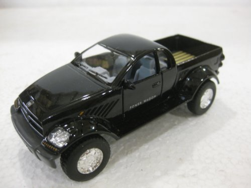 Dodge Power Wagon In Black Diecast 1:42 Scale By Kinsmart - 1