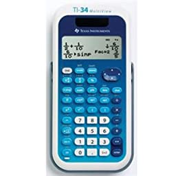 TEXAS INSTRUMENTS TI-34 Multi View Calculator / 34MV/TBL/1L1/A /