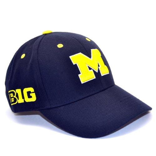 Michigan Wolverines Adult Adjustable Hat front-949773