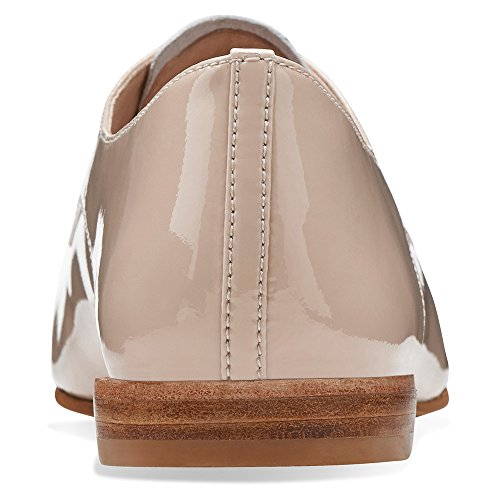 pictures of Clarks Women's Festival Gala Oyster Patent 8.5 M