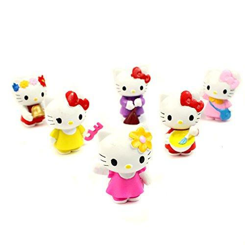 Hello-Kitty-Mini-Figures-6-Pcs-Set-PVC-Action-Characters-Toys-4cm