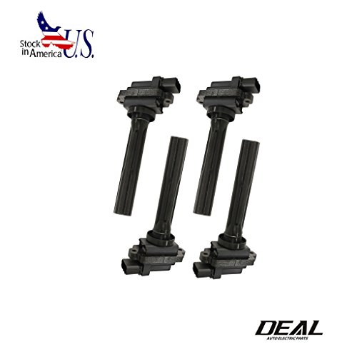 Deal 4pcs New Ignition Coils For Chevrolet Suzuki UF237 88921380 C1159 1.6L 1.8L 2.0L L4 2.5L 2.7L V6 Tracker Aerio Esteem Grand Vitara Sidekick XL-7 (Ignition Coil Suzuki Grand Vitara compare prices)