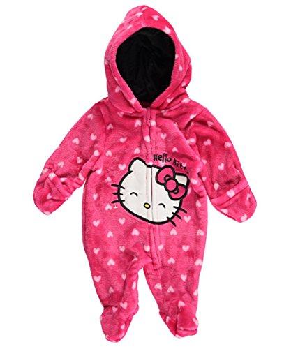 Hello-Kitty-Baby-Girls-Girls-HK-Heart-Plush-Pram
