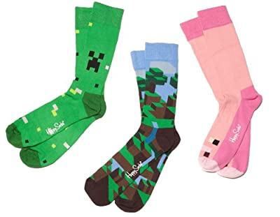 Minecraft Happy Socks 3pack from Jinx