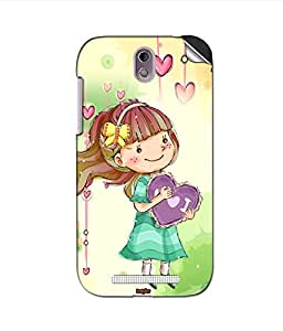 instyler MOBILE STICKER FOR HTC DESIRE 500