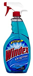 Johnson Wax 32 Oz Blue Trigger Spray Original Windex®  80127
