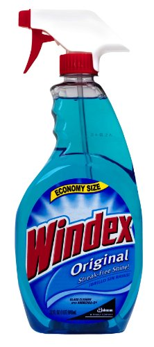 Johnson Wax 32 Oz Blue Trigger Spray Original Windex® 80127