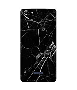 Black And White Micromax Canvas Selfie 3 Q348 Case