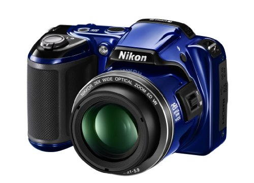 Nikon COOLPIX L810 Compact Digital Camera - Blue (16.1MP, 26x Optical Zoom) 3 inch LCD