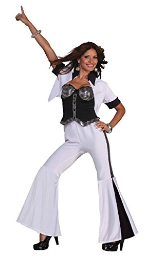 Forum Novelties Women's 70's Disco Fever Dancing Diva Costume