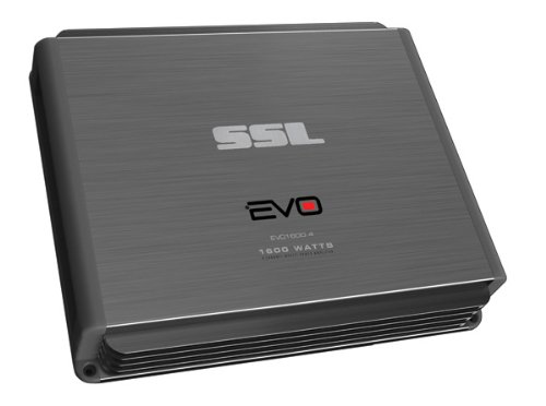 Ssl Evo1600.4 - 1600 Watt, 4 Channel, Full Range, Class A/B, 2-8 Ohm Stable Amplifier With Remote Subwoofer Level Control