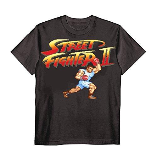(テラソラル) terasolar ストリートファイターⅡ バイソン Tシャツ ブラック XL