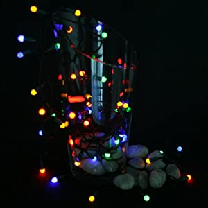 led berry christmas lights cable kitchen home