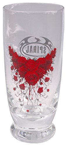 A sangue Rose-Set da 2 bicchieri