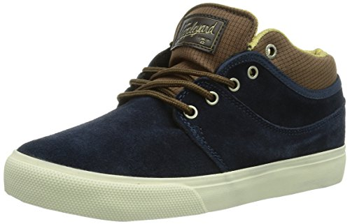 Globe Mahalo, Sneaker a collo alto Unisex - adulto, Blu (Blau (navy/brown 13191)), 43