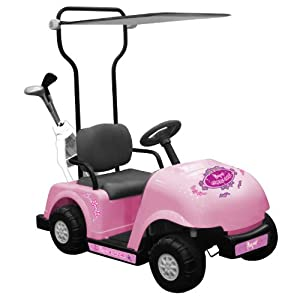 National Products 6V Golf Cart (Pink)