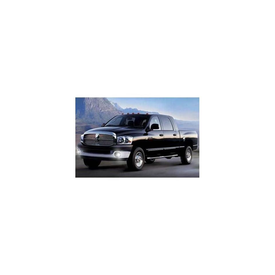 Dodge Ram Fog Light Lamps Kit 1500 2500 3500 2001 2008 Automotive