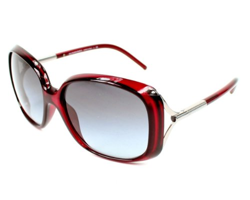 Burberry  Burberry Sunglasses BE 4068 301411 Metal - Acetate Burgundy Gradient grey