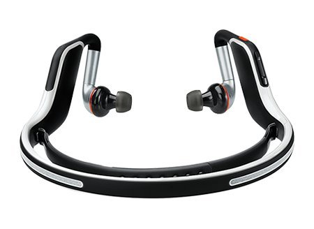 Motorola S11-Flex Hd Wireless Stereo Bluetooth Headset (Black & White)
