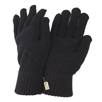 - Mens Winter Gloves (One Size) (Black)
