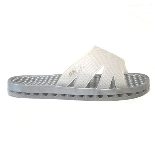 bffc3d9616764b Sensi Regatta Ice Glacier Shower Spa Sandals Unisex (Us 5 Sensi 5 6) Price  in India