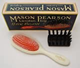 Mason Pearson Handy Nylon hairbrush, white