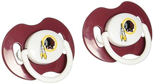 NFL Washington Redskins 2 Pack Pacifier