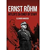 img - for By Eleanor Hancock Ernst R  hm: Hitler's SA Chief of Staff (Reprint) [Paperback] book / textbook / text book