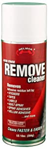 Helmar Remove Cleaner Spray, 10-Ounce