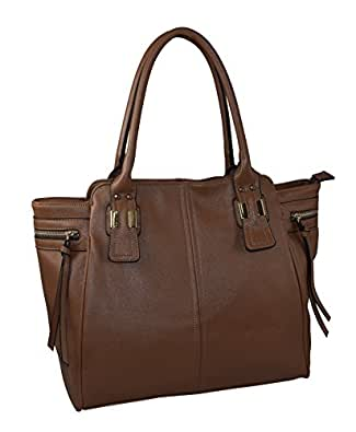Patzino Fashion Plus Collection, Faux Leather Women's Tote Handbag