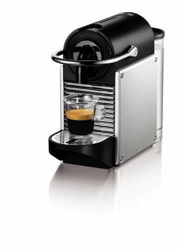 Nespresso Pixie Espresso Maker, Aluminum front-53765