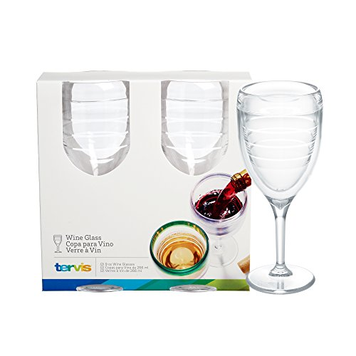 Tervis Wine Glass, Clear, 9 oz (Wine Tervis compare prices)