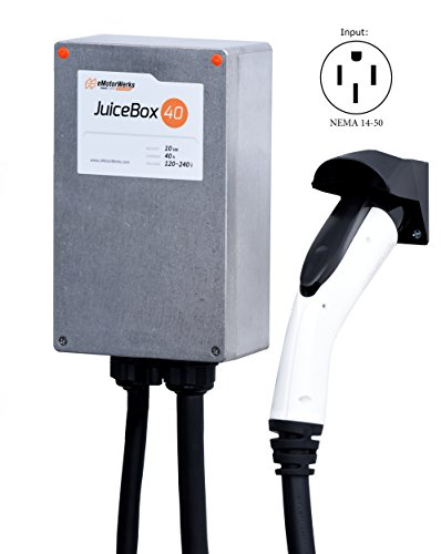 JuiceBox 40A EV Charger / Home Level 2 Electric Vehicle Charging Station with 24' Cord (Evse Nissan Leaf compare prices)