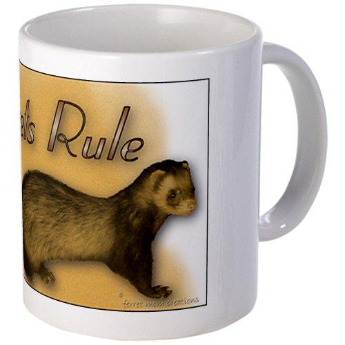 CafePress Ferrets Rule Mug - Standard