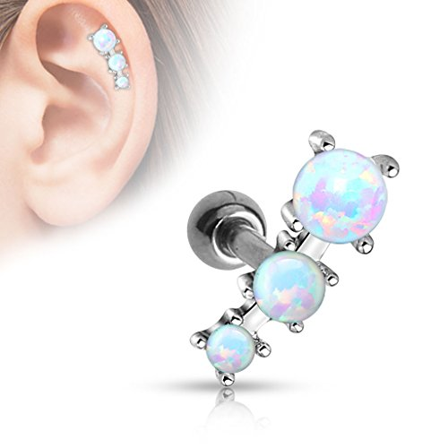 triple-opal-ball-tragus-barbell-316l-surgical-steel-cartilage-bar-helix-piercing-16g