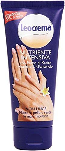 Leocrema - Crema Nutriente Intensiva, Non Unge , 100 ml