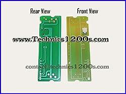 Technics 1200 / 1210 Mk2 Mk3 M3d Mk4 Mk5 Mk6 Pitch Control Printed Circuit Board PCB with Potentiometer by Technics1200s.com