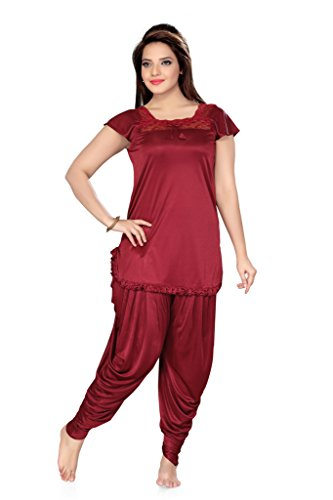 Ishin White Cotton Nighty Price in India  031426e30