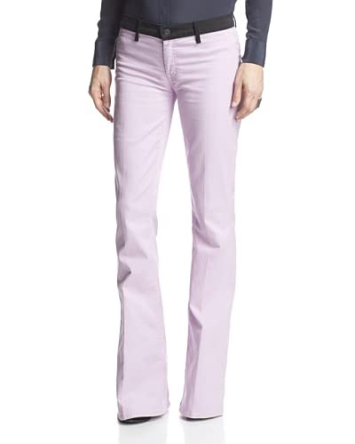 Mother Denim Women's Curfrew Prep Kick Flare  [Lilac]