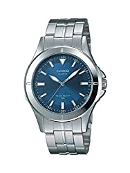 Casio Enticer Analog Blue Dial Mens Watch - MTP-1214A-2AVDF (A343)