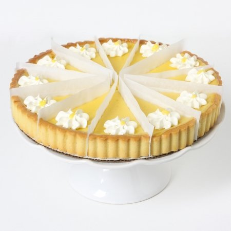 Mothers Day Gift Lemon Flower Tart