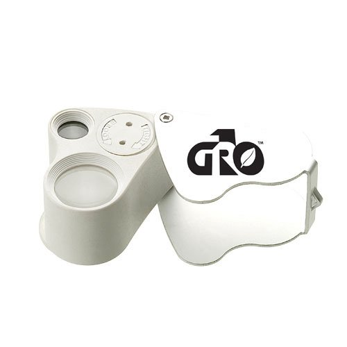 Gro1 Hydroponic Illuminated Double Loupe Microscope 30x & 60x Zoom (Electronic Loupe compare prices)