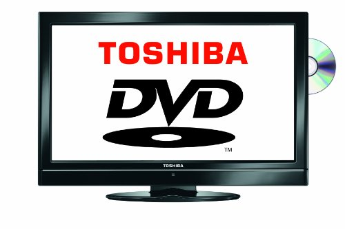 Toshiba 19DV501B 19-inch Widescreen HD Ready LCD TV with Built-in DVD player