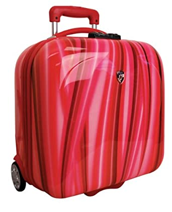 Heys Luggage Ecase Exotic Bag, Red Flow, One Size