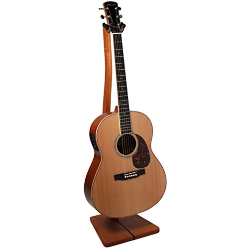 So There Wooden Guitar Stand - Handcrafted Solid Mahogany Wood Floor Stands Best for Acoustic, Electric and Classical Guitars, Made in USA